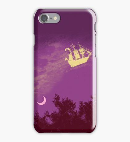 flying ship iPhone Case/Skin