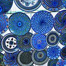 Blue Plates; Tunisia by Dean Bailey