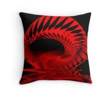 Spiral Spill Throw Pillow