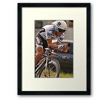 Albeto Contador Framed Print