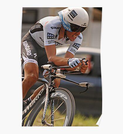 Albeto Contador Poster