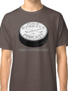 Puck Dynasty Podcast Logo Classic T-Shirt