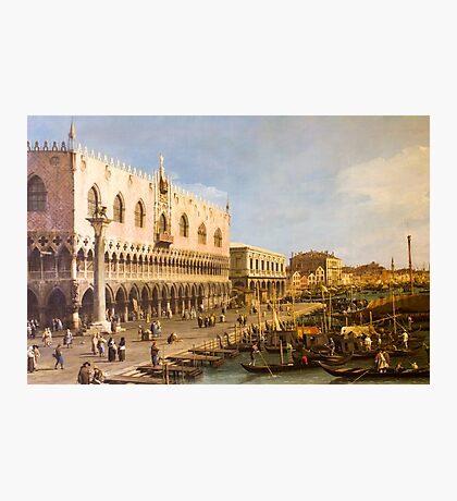 Venice - artwork in painting style Photographic Print