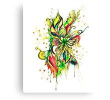 colourful organics Canvas Print