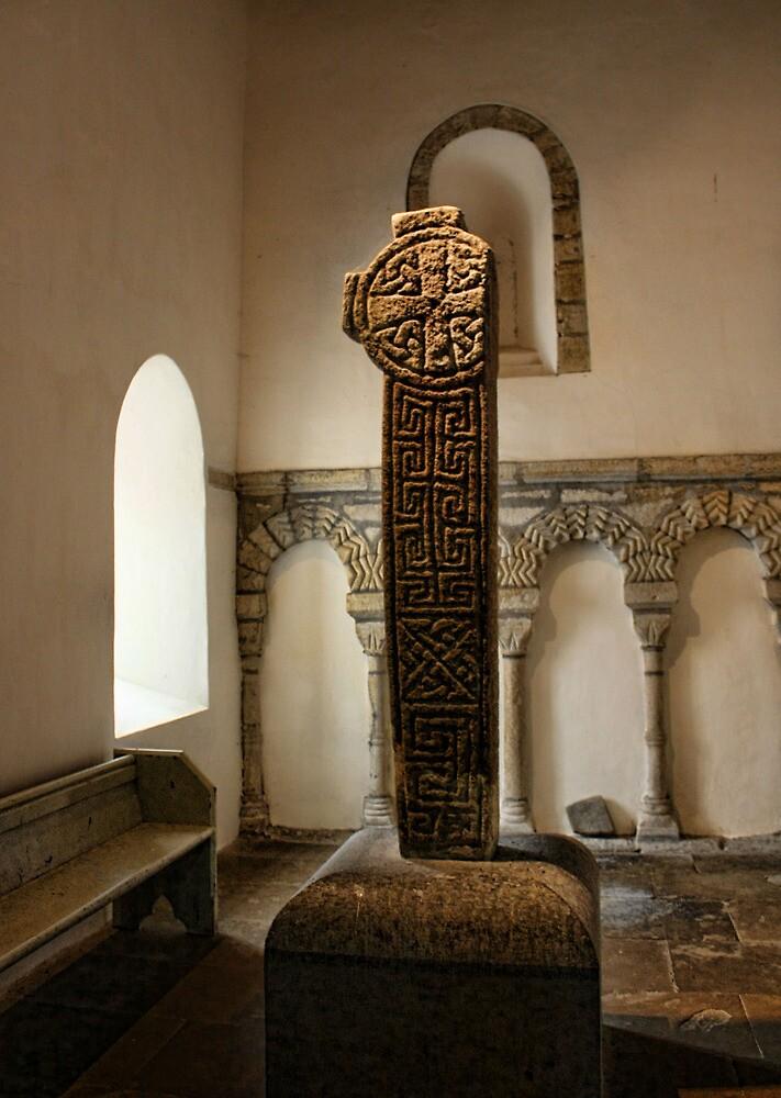 Penmon-Celtic Cross by Julesrules