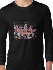The Dancing Men Long Sleeve T-Shirt