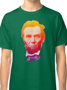 Big psychedelic Abe  Classic T-Shirt