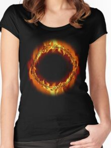 The one ring Women's Fitted Scoop T-Shirt