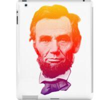 Big psychedelic Abe  iPad Case/Skin