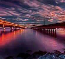 Between bridges by GeoffSporne