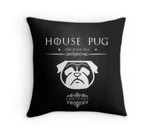 House Of Pugs Throw Pillow