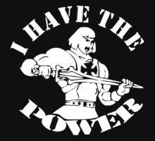 He-Man  Fun Shirt Kult Retro Film Serie Master I Have the Power Kids Clothes