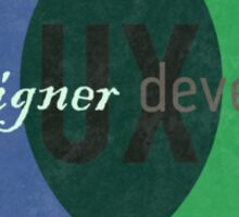 User Experience Sticker