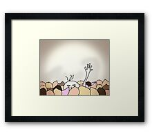mammary madness...drowning Framed Print