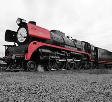 707 Locomotive (Spot Colour) by MarshEvents