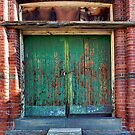 Abbotsford Convent Laundry Door by Vicki Moritz