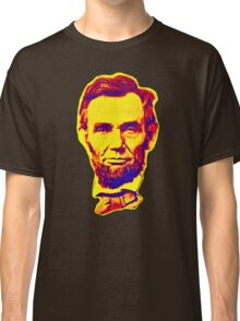Bright Face Abraham Lincoln  Classic T-Shirt