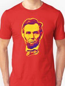 Bright Face Abraham Lincoln  T-Shirt