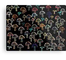 Funky Fungi Metal Print