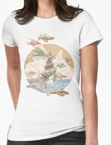 Sea Dream Womens Fitted T-Shirt