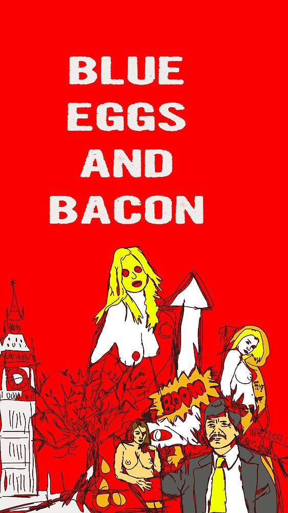 Blue Eggs and Bacon by JoyceTwix
