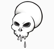 Dripping Skull Kids Clothes