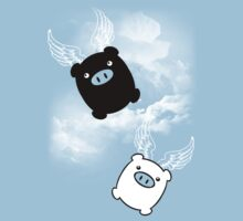 TWIN PIGS FLYING T-Shirt
