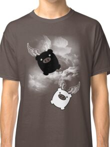TWIN PIGS FLYING Classic T-Shirt