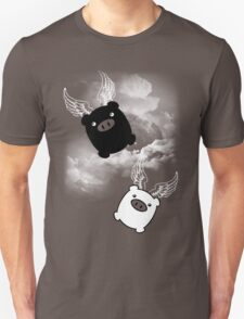 TWIN PIGS FLYING Unisex T-Shirt