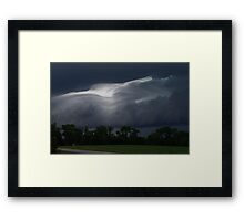 Storms coming Framed Print