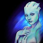 Liara T'Soni - Mass Effect by ellieshep
