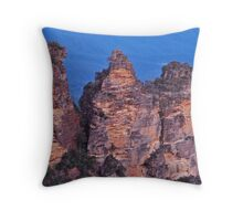 Legend of the Three Sisters. Throw Pillow