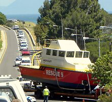 A sea rescue on the main road??! by Pieta Pieterse