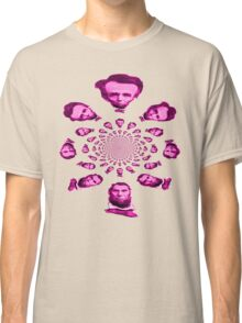 abraham lincoln kaleidoscope- pink Classic T-Shirt