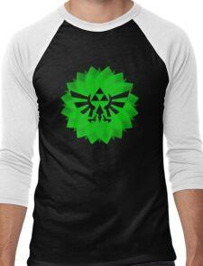 Triforce art Men's Baseball ¾ T-Shirt