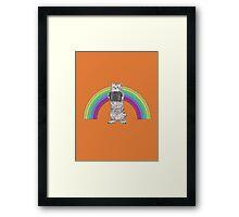 LOMO KITTY!  Framed Print