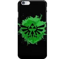 Triforce splash art iPhone Case/Skin