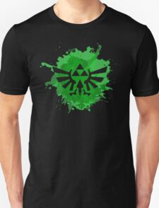 Triforce splash art Unisex T-Shirt