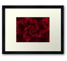 Passion Abstract Fractal Framed Print