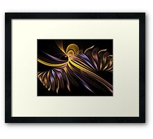 Musician Abstracl Fractal Framed Print