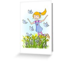 Spring's in the air Greeting Card