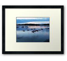 Hull Bay Framed Print