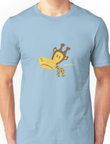 Clancy the Giraffe Unisex T-Shirt