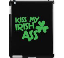Kiss my IRISH ASS iPad Case/Skin