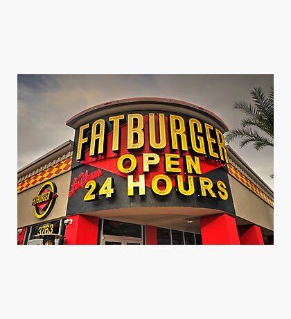 Fatburger  Photographic Print