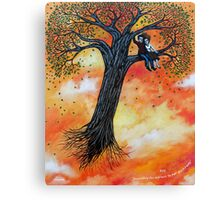 'Searching for a Place to put down Roots' Canvas Print