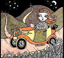 Mandys Moonlit Drive by Anita Inverarity