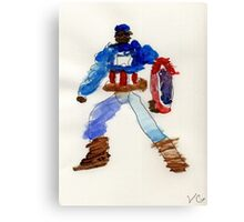 American Captain  Canvas Print
