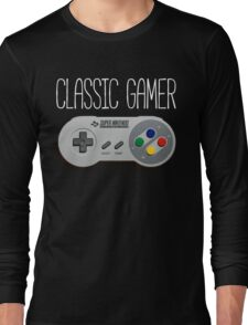 Classic gamer (snes controller) Long Sleeve T-Shirt