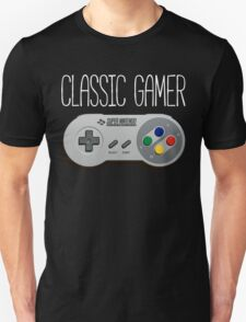 Classic gamer (snes controller) T-Shirt